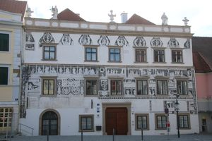 Sgraffitohaus in Horn, 1583